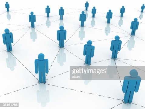 Business Network : Stock Photo