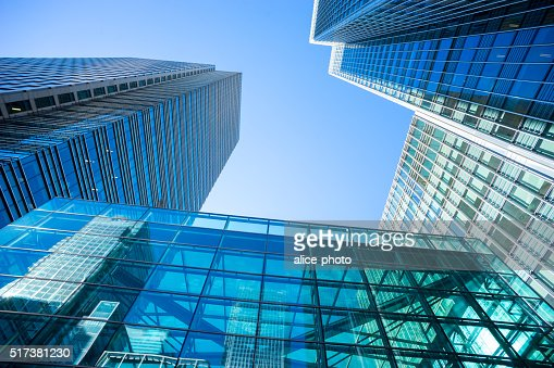 Business office building in London, England : Stock Photo