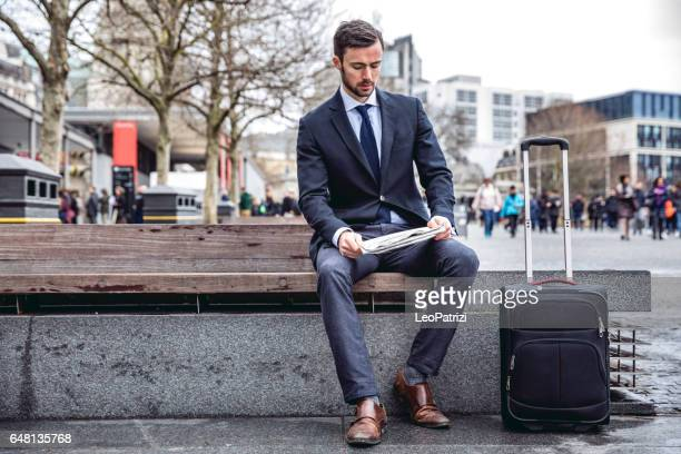 Business on the go in the city of London