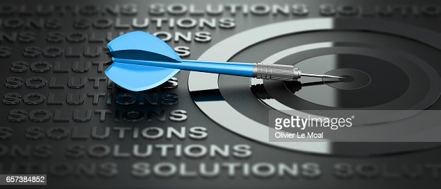 Business or Marketing Consulting, Creative Solutions : Stock Illustration