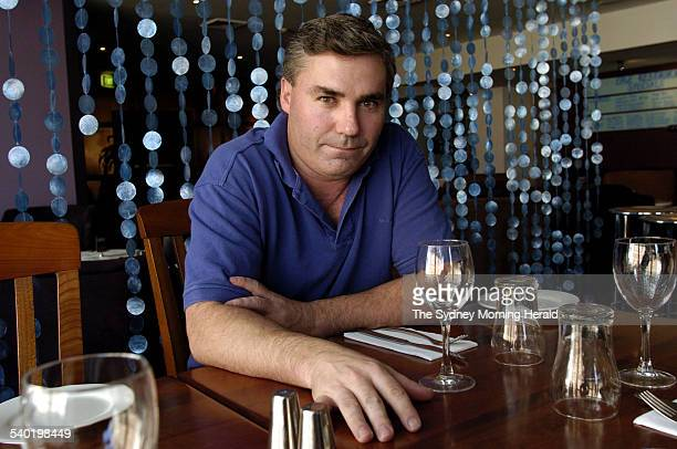Business owner manager Ian Middleton in his Crows Nest lounge bar talking about the effect of the Federal Governments Industrial Relations laws over...