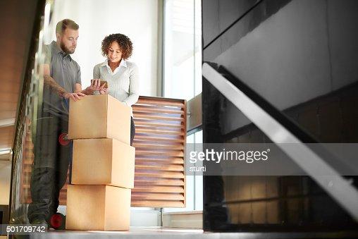 business parcel courier
