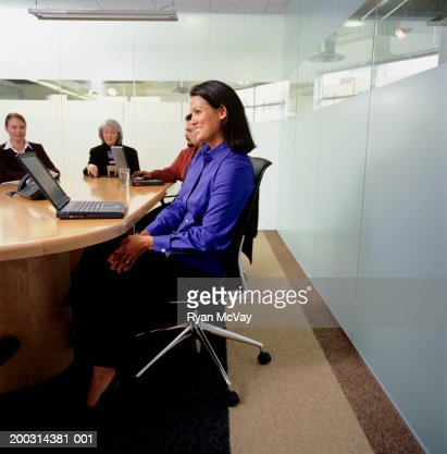 Business people at meeting in conference room : Stock Photo