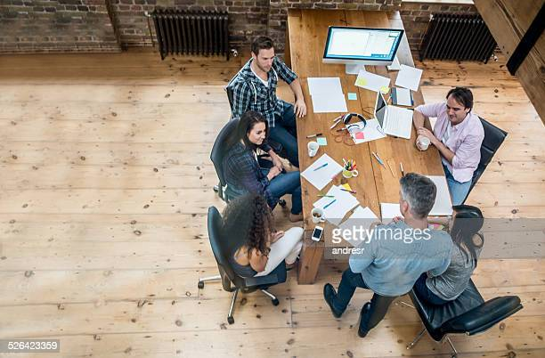 Business people at the office