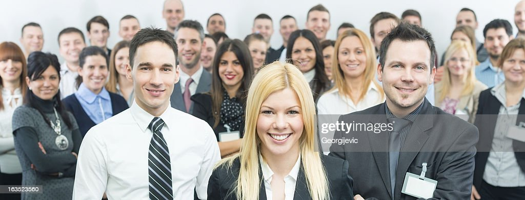 Business people at the seminar