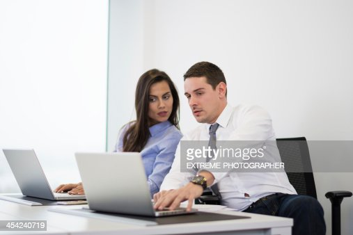 Business people at work : Stock Photo