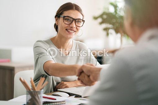 Business people discussion advisor concept : Stock Photo