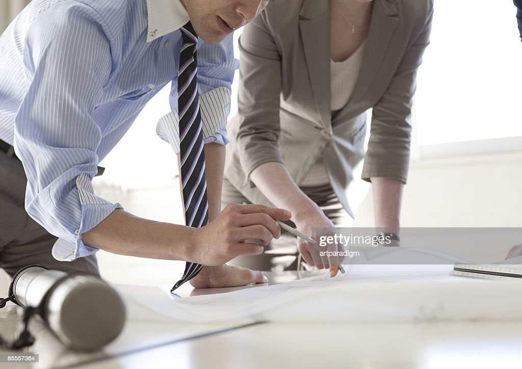 Business people have a meeting : Stock Photo