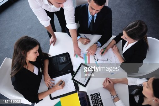business people in a meeting at office : Stock Photo