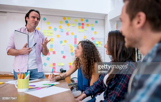 ビジネスの人々のミーティング