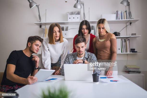 Business people in a meeting