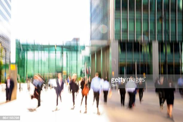 Business People in London