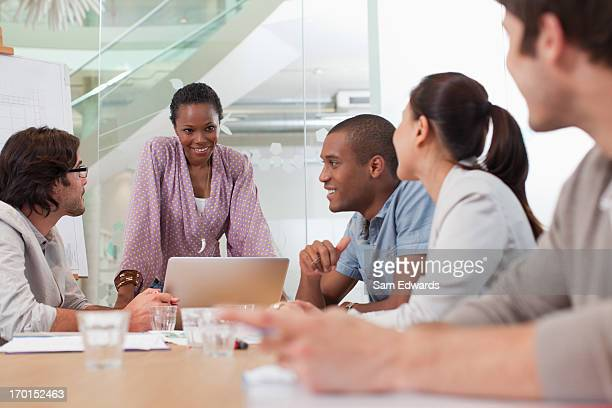 Geschäftsleute Treffen im Konferenzraum