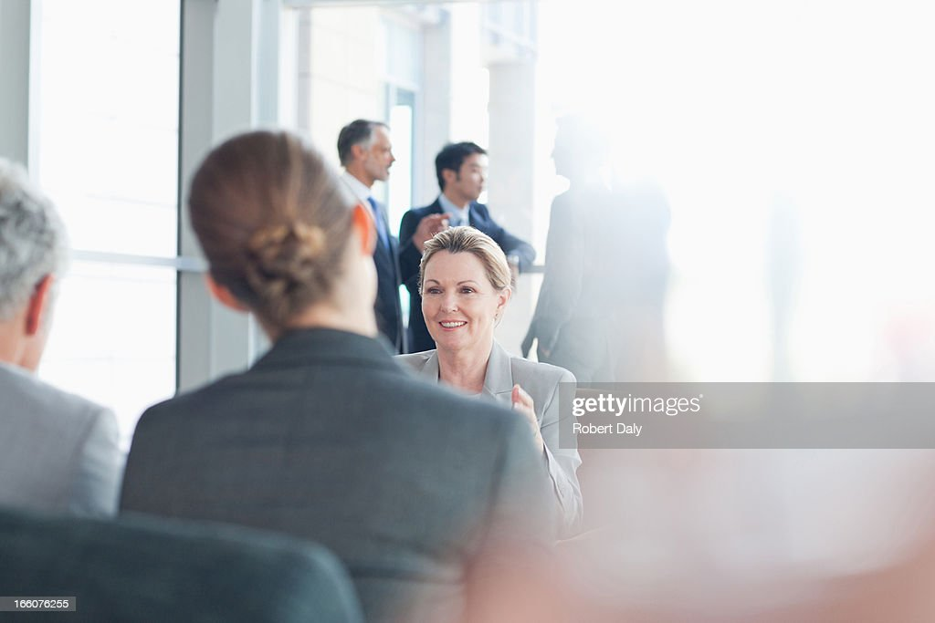 Business people meeting in office : Stock Photo