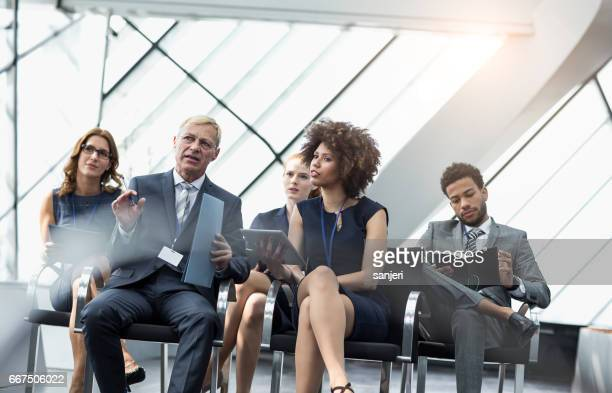 Business People on a Conference Event