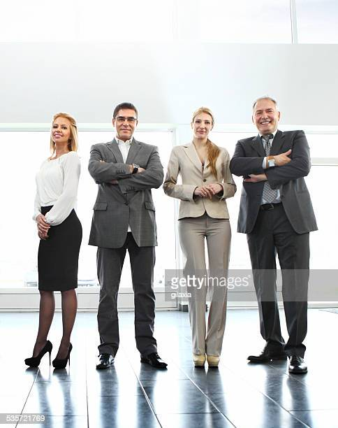 Business people.