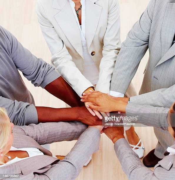 Geschäftsleute, die Einheit