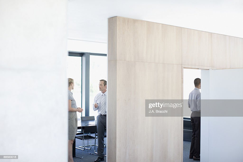 Business people talking in conference room : Stock Photo