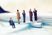 business people traveling concept