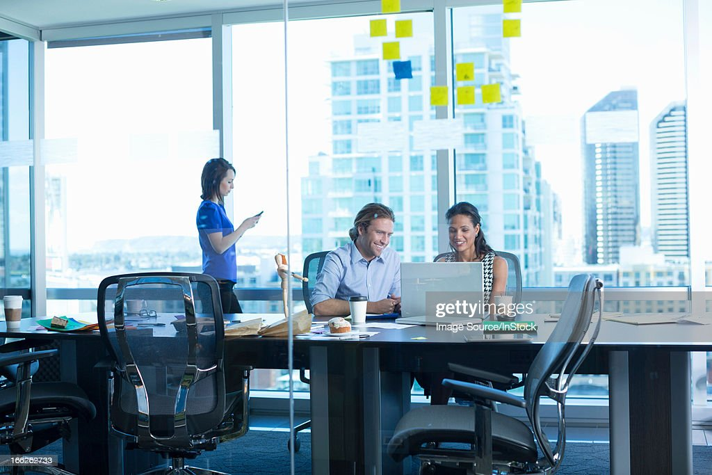 Business people working in office : Stock Photo