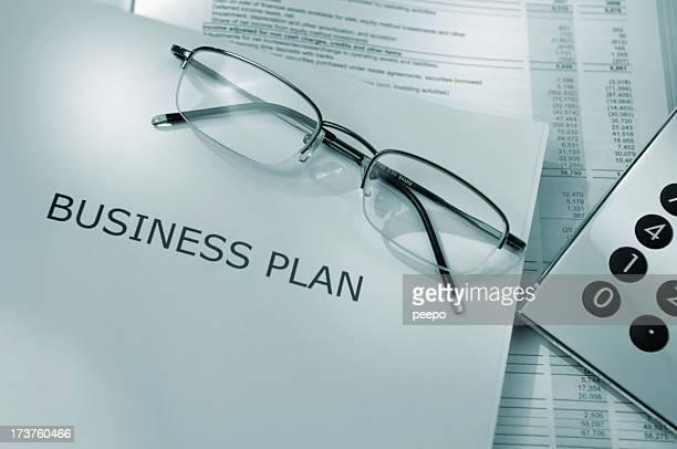 Série de plan d'affaires