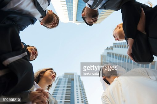 Business professionals in Middle East