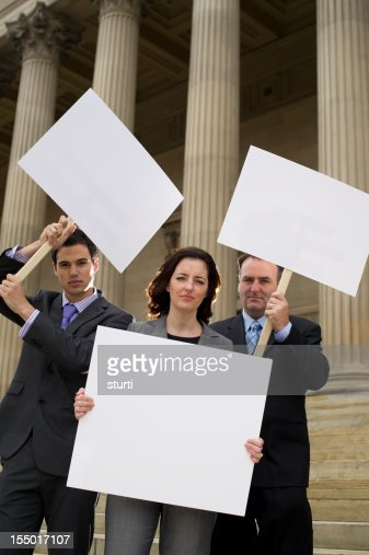 business protest