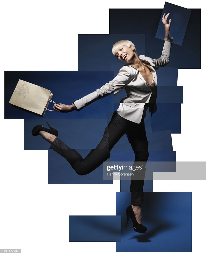 Business Puzzel : Stock Photo