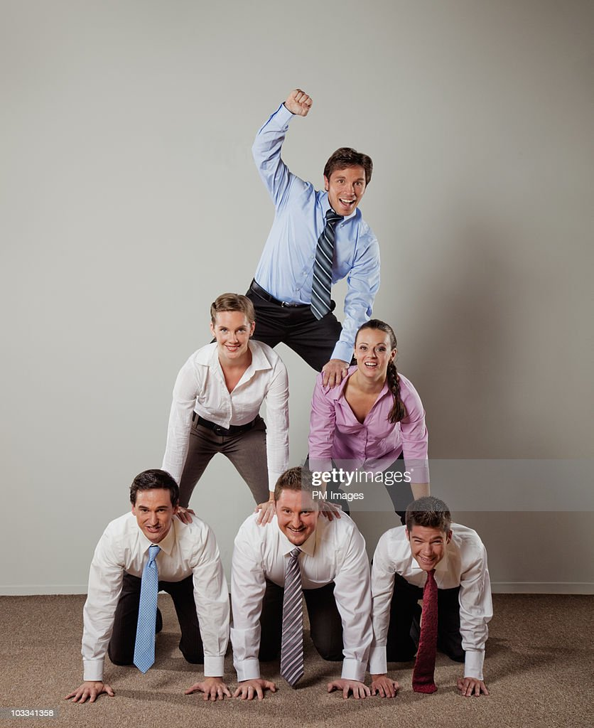 Business Pyramid : Stock Photo