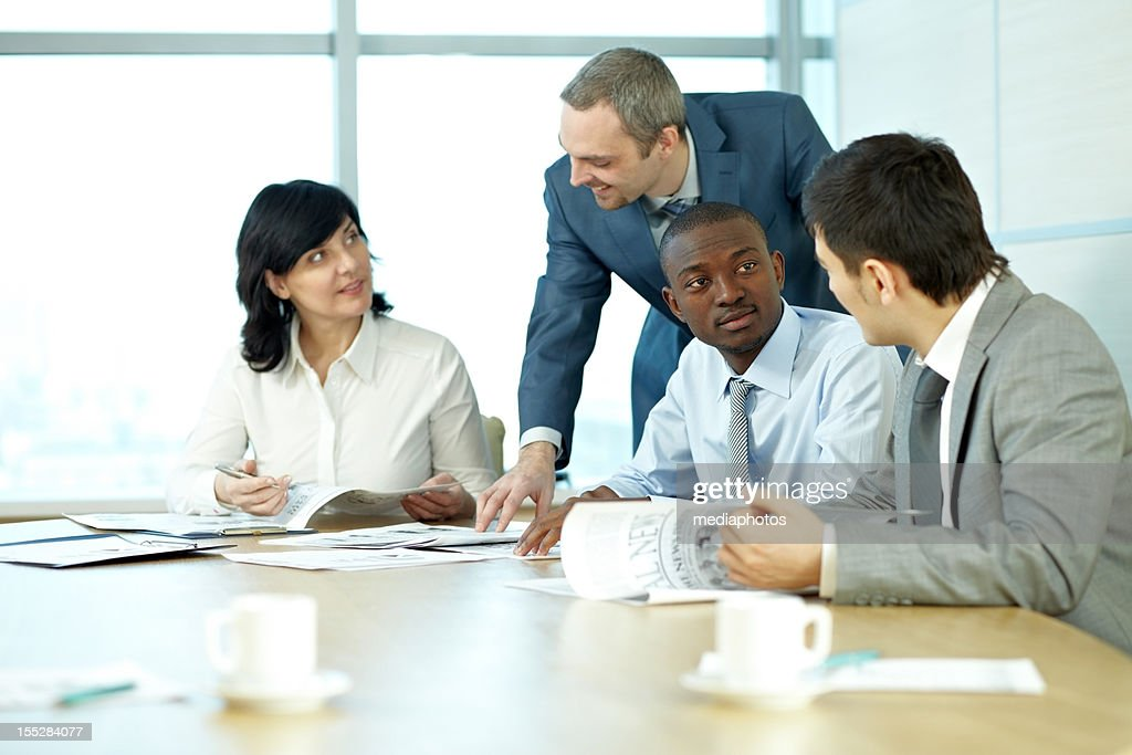 Business review : Stock Photo