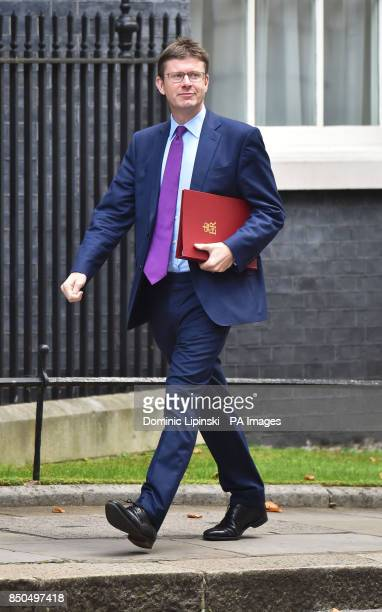 Business Secretary Greg Clark arriving in Downing Street London for a Cabinet meeting where Theresa May will brief on her plans for Brexit before a...