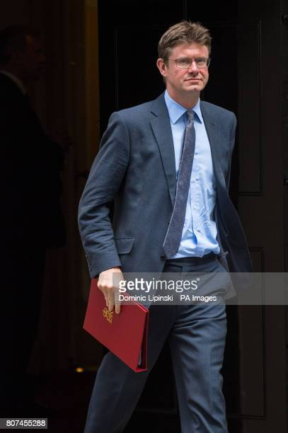 Business Secretary Greg Clark leaves 10 Downing Street London following a Cabinet meeting