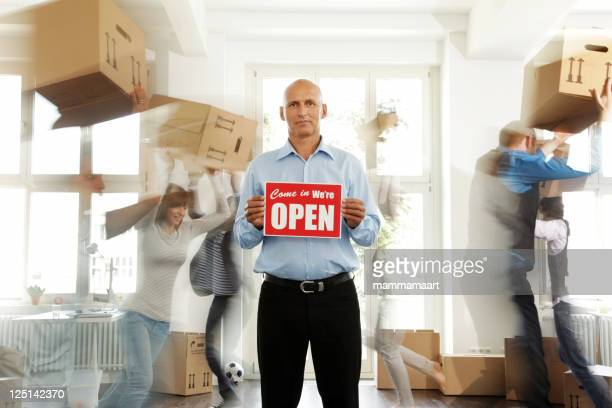 Business Start-up, Come in, We're Open