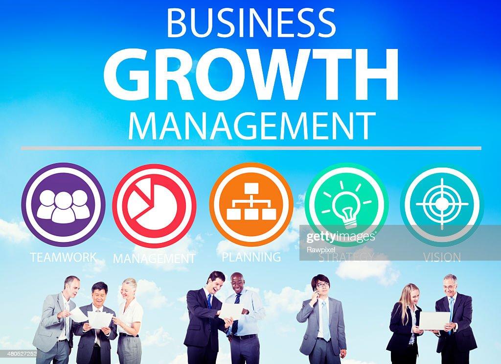 Business Strategy Management Mission Success Concept : Stock Photo