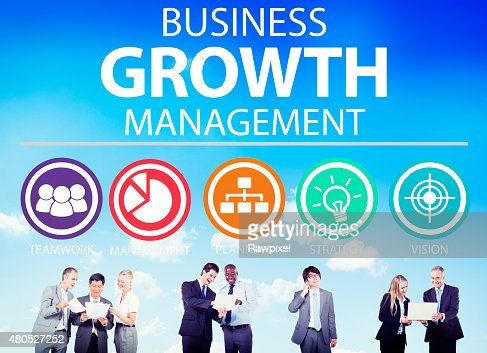 Business Strategy Management Mission Success Concept : Stock Photo