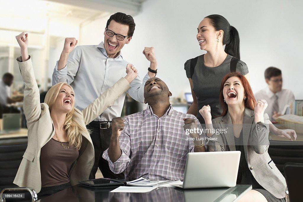 Business Success : Stock Photo