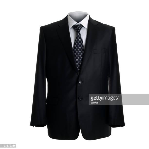 ビジネススーツ白で分離