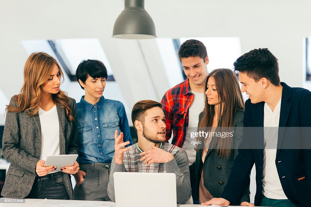 Business Team At Meeting. : Stock Photo