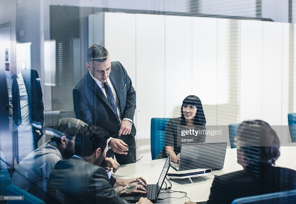 Business team at the office : Stock Photo