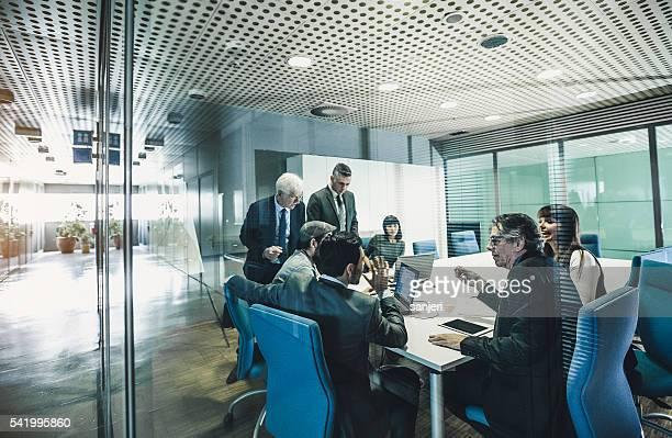 Business-team im Büro