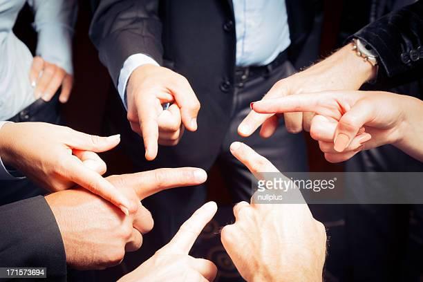 Affaires équipe Blâmer les autres