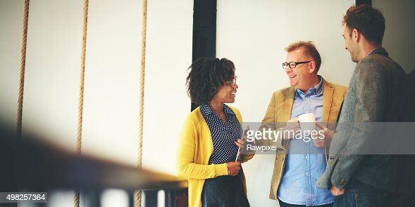 Business Team Coffee Break Relax Concept : Stock Photo
