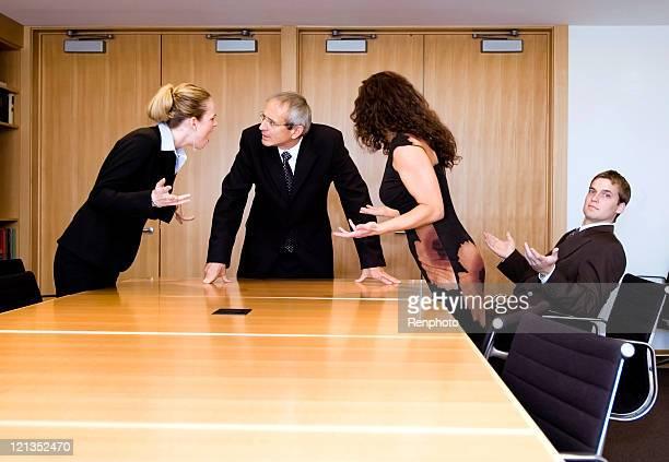 Business Team Disagreement