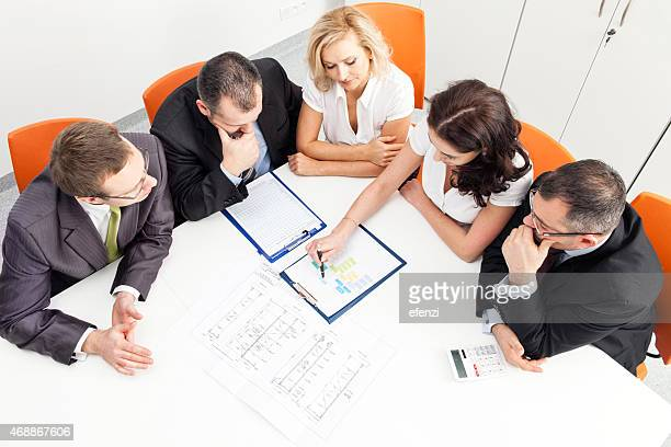 Business Team Discussing Project