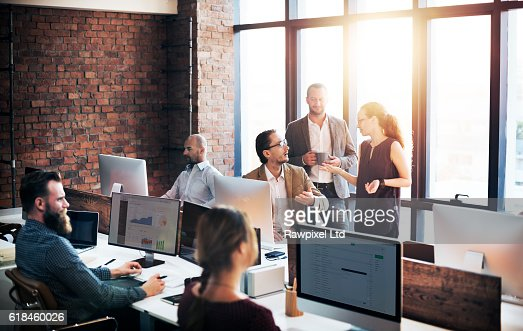 Business Team Discussion Meeting Corporate Concept : Stock Photo