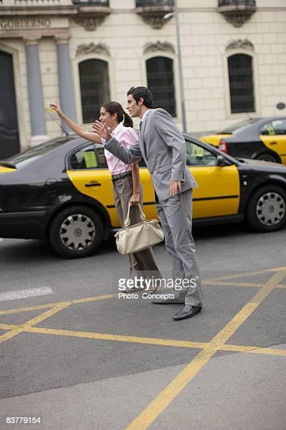비즈니스 팀 브루클린에서 cab 바르셀로나