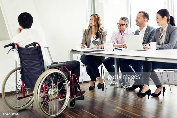 business-team mit einem Treffen