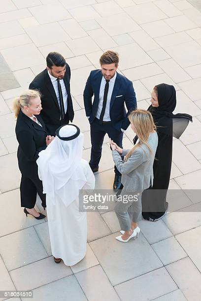 Business team in Middle East