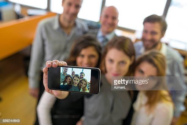 Photo de l'équipe d'affaires