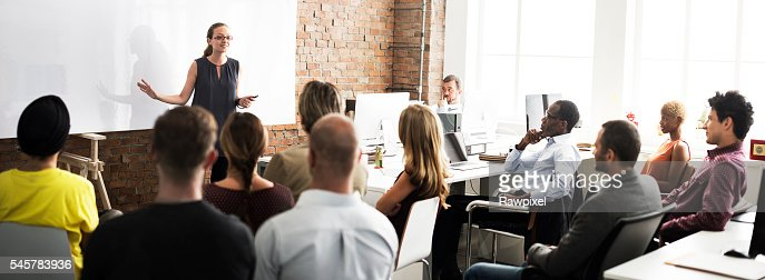 Business Team Training Listening Meeting Concept : Stock Photo